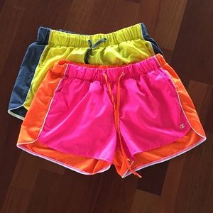 Set of Bright Champion Sporty Shorts with Pockets